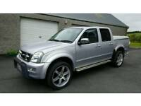 2006 Isuzu Rodeo 3.0 TD AUTO **WOW 66K MILES** 1 OWNER ** No Vat!! 4x4 pickup jeep
