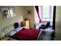 Quiet double room, with en suite, for quiet person - entry mid-late Jan