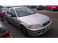 2000 HONDA CIVIC, 1.5 PETROL, BREAKING FOR PARTS ONLY, POSTAGE AVAILABLE NATIONWIDE