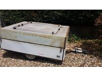 """Box trailer """"water tight with lid"""""""