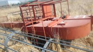 Used 90 Foot Sudenga Elevator Leg 4500 Bu/hr, with 20 HP motor and drive and safety cages. Repairable or for parts