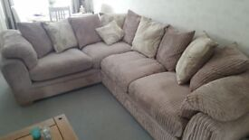 Sofa and Cuddle Chair for sale