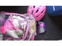 Triline skates set pink size 11 Birmingham Triline skates set pink size 11