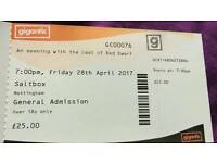Red dwarf tickets x3