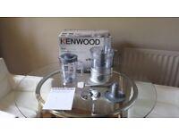 Food processor KENWOOD. As new. Best offer