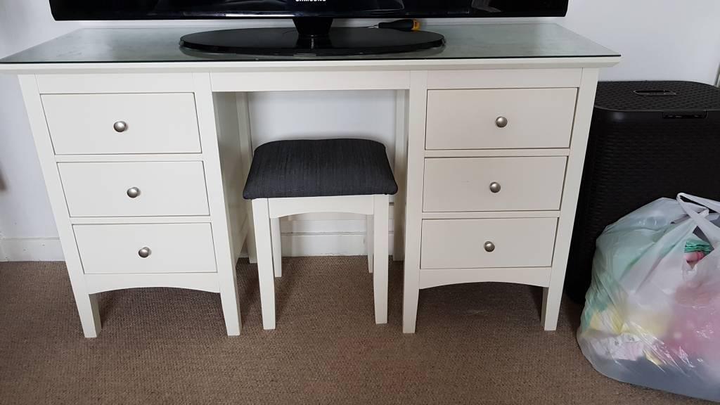 Marks & Spencer - Hastings Ivory Dressing Table & Stool Set | in ...