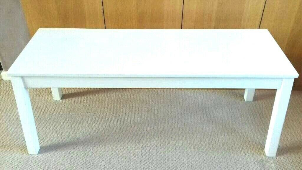 Fabulous Ikea Sigurd Bench In White 110Cm Chair Dining Seat In Overton Hampshire Gumtree Ocoug Best Dining Table And Chair Ideas Images Ocougorg