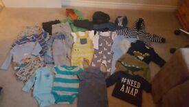 Baby boys clothes bundle size 9-12 months