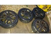"""17"""" Vauxhall Sri alloys"""
