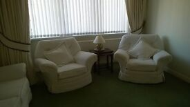 Retro sofa and two armchairs