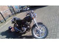 (Yammaha sr 125style) Superbyke Custom cc 2010 full mot mint condition!! Bargain!! PRICE DROP!!