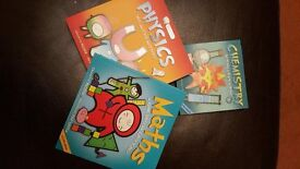 Basher Childrens Books - Physics, Chemistry and Maths
