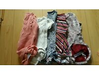 Girls winter dresses ages range from 2-6 years