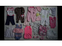 Really big bundle of Girls Clothing (0-3months)