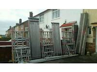 Bosch aluminium scaffolding