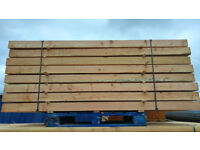 4 x 4 Larch posts 2.4m long - collection