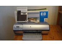 HP Photosmart 7450 colour printer, as new