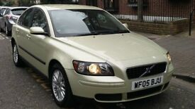 VOLVO S40 2.0 SE DIESEL 2005 05 REG GREEN 4 DOOR SALOON 6 SPEED MANUAL PAS A/C 129K 07826 336 398
