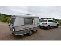 Eriba Puck Caravan in excellent condtion with Awning