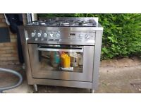Hotpoint Dual Fuel Range Cooker