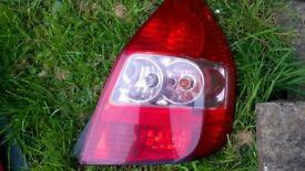 Honda Jazz Mk2 2002-2008 o/side driver side rear light