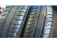 175 65 14 2 x tyres Michelin Energy Saver