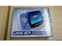 Boxed Gameboy advance