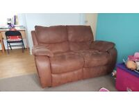 2 Seater Reclining Sofa