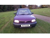 NISSAN MICRA 1.0 AUTOMATIC,VERY GOOD DRIVE, LONG MOT,LAST OWNER OWNED FROM 2005,IN AND OUT VERY CLEA