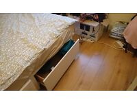 Divan double bed for sale