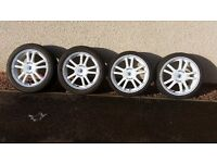 """Sparco 17"""" 4x100 sell or swap for off road bike any size"""