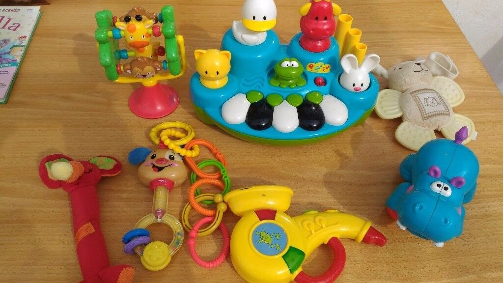 Large bulk bundle of toys, fisher-price, early learning and other ...