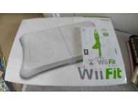 Nintendo Wii Fit Game and Board £15
