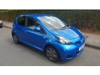 2010 TOYOTA AYGO 1.0 VVT-I - MOT 31th MARCH 2019 - 84345k - £20 A YEAR TAX - 1 OWNER FROM NEW