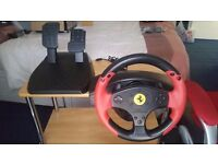 Thrustmaster Ferrari Racing Wheel (Red Legend Edition) - PS3 and PC Steering Wheel
