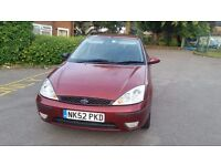 FORD FOCUS 1.6 LITRE, ZETEC PETROL MANUAL, 71461 MILEAGE, PERFECT ENGINE, GOOD CONDITION IN AND OUT