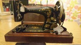 Beautiful vintage 1894 singer sewing machine