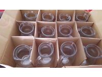 23 brand new Glass Jug with Handle NEW