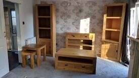 SOLD - Oak wood furniture from NEXT