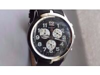 Brand New MENS HANOWA 16-4004.7.04.007 Swiss Made Chronograph Watch Boxed XMAS Gift