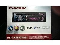 Pioneer DEH-X8500DAB Car Stereo £60ono