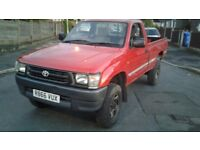 Toyota Hilux - Lots of new parts!