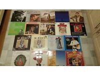 18 albums from 40's/50's - Nat King Cole, Al Jolson, Jim Reeves, Bing Crosby etc