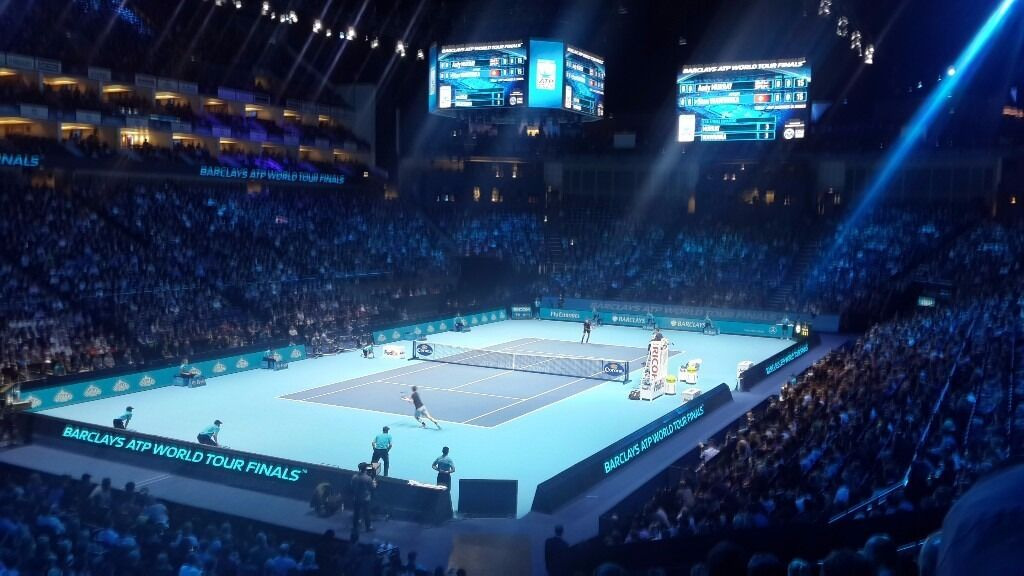 Atp Tennis At The O2 Friday 18th Evening 2 Tickets