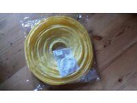 Free 16 inch yellow baloon lampshade new