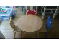 john lewis kids wooden table