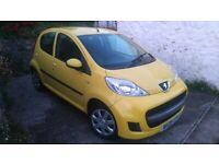 Peugeot 107, Automatic/Semi Auto, £20 Tax, 50+mpg, Full Mot, F.S.H, Only 41,000 Miles, 5 Doors