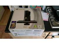 250gb xbox 360 with kinect and 11 games