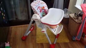 Chicco Polly 2 in 1 Happy Land Highchair