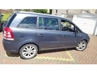 2008 Vauxhall Zafira Elite 1.9 Cdti [150] Diesel, 7 seater,MOT till April 2017, Not Verso Citroen